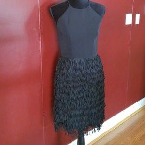 Aidan Mattox Fringe Dress